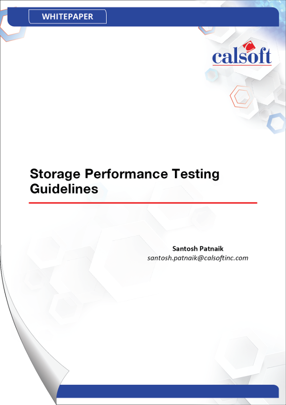 Storage Performance Testing Guidelines