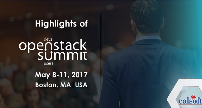 OpenStack Summit, May 2017, Boston – An Experience