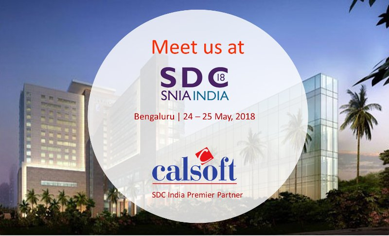 SNIA SDC 2018 – The Largest Storage Developer Conference in India