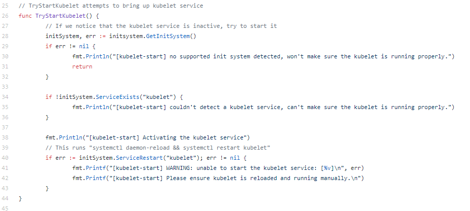 Why kubelet runs as a system service in Kubernetes cluster and not as pod/daemonsets?