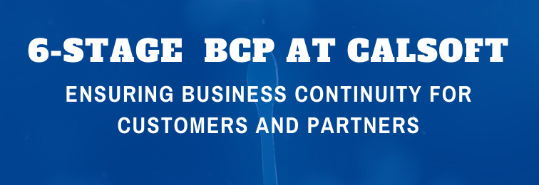 6-Stage BCP at Calsoft – Ensuring Business Continuity for Customers and Partners