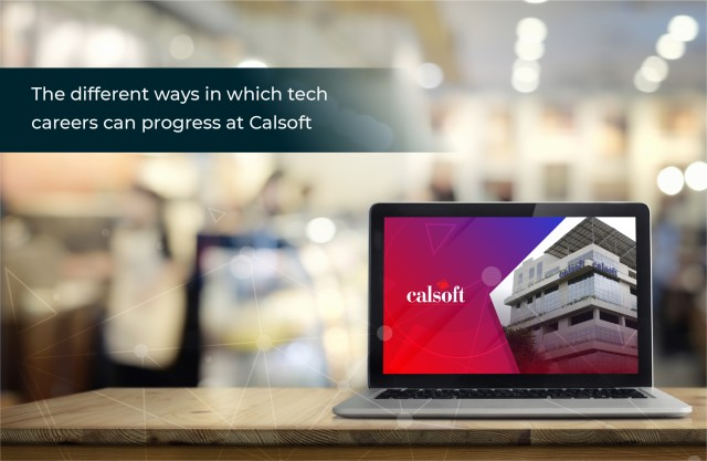 The different ways in which tech careers can progress at Calsoft